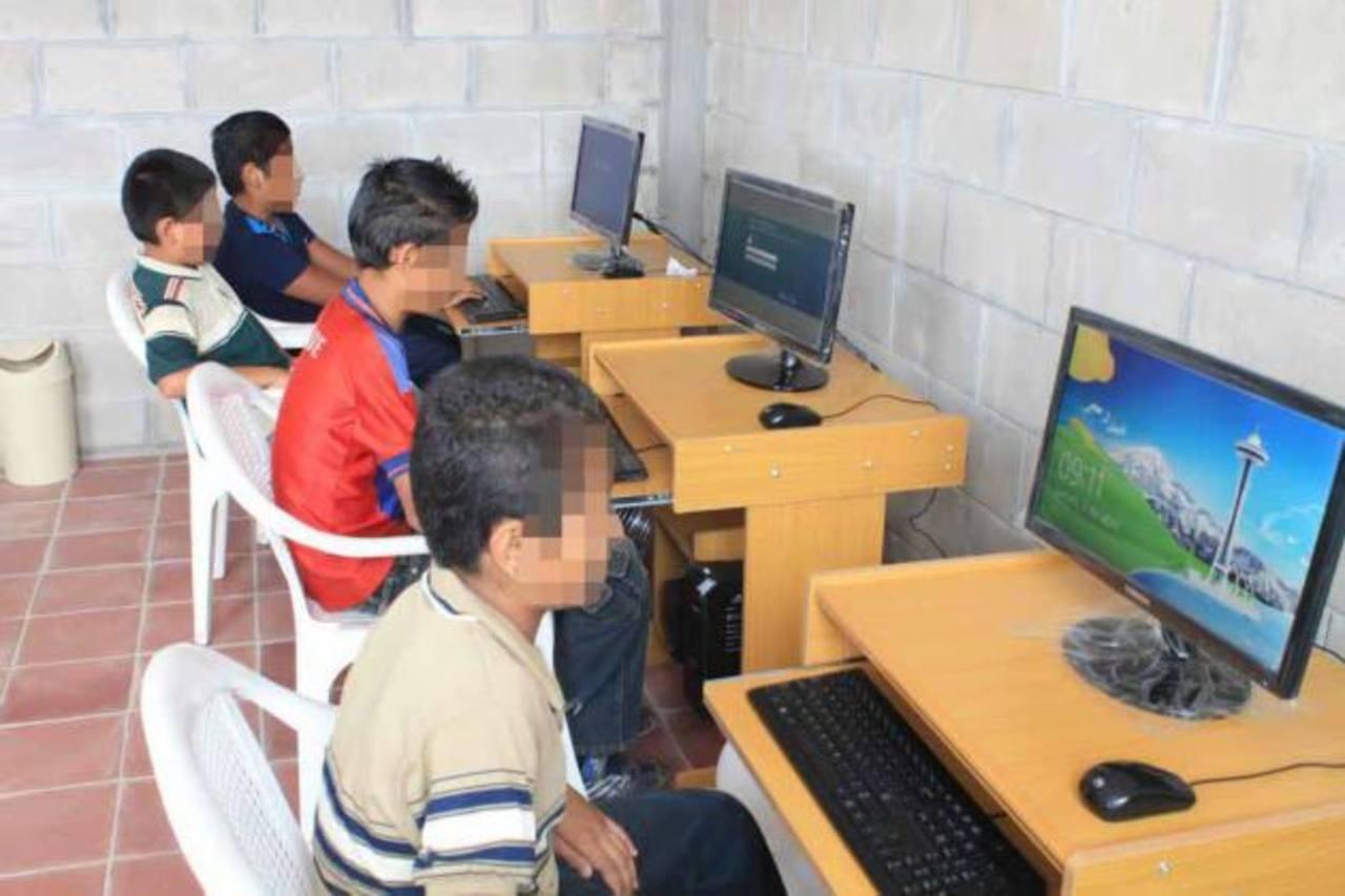 El Centro de Formación Integral para la Niñez y la Juventud, funciona en la colonia Nueva Guadalupe. Foto EDH /