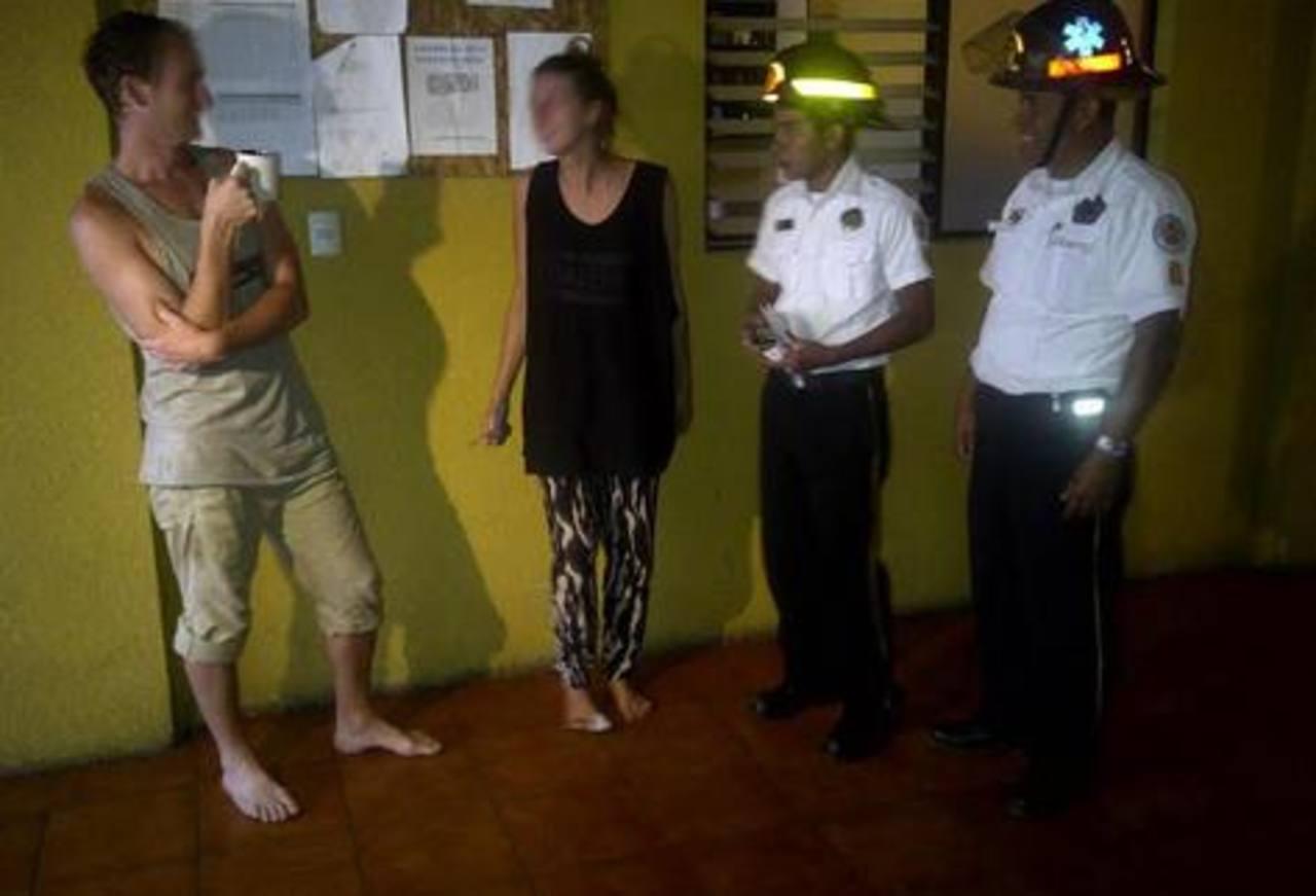 Turistas fueron víctimas de robo.