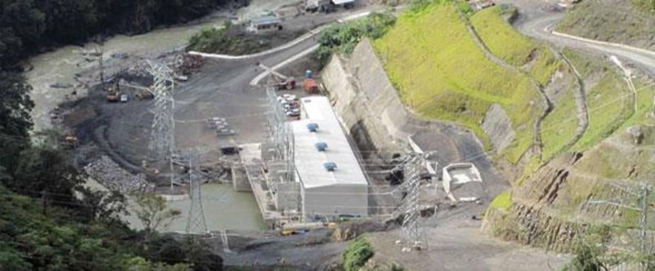 La construcción de la planta eléctrica de Palo Viejo fue realizada por la compañía italiana Enel Green Power. Foto EDH