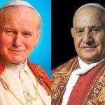 Juan XXIII y Juan Pablo II le hablan ahora a El Salvador