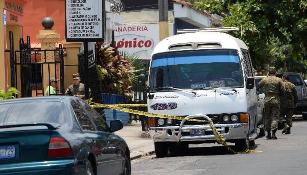 Los ataques de mareros contra policías y miembros del Ejército se han duplicado este año a comparación del anterior, según datos de la Policía. Foto EDH / Claudia Castillo