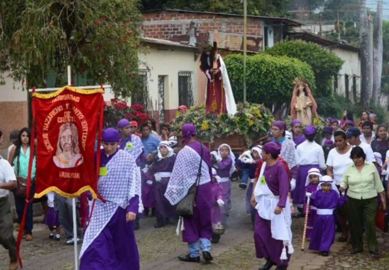 5 costumbres salvadoreñas en Semana Santa
