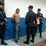 El detenido fue presentado en la Delegación de la PNC de Cuscatancingo.
