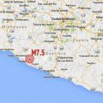 Terremoto de 7.5 grados sacude ciudad de México