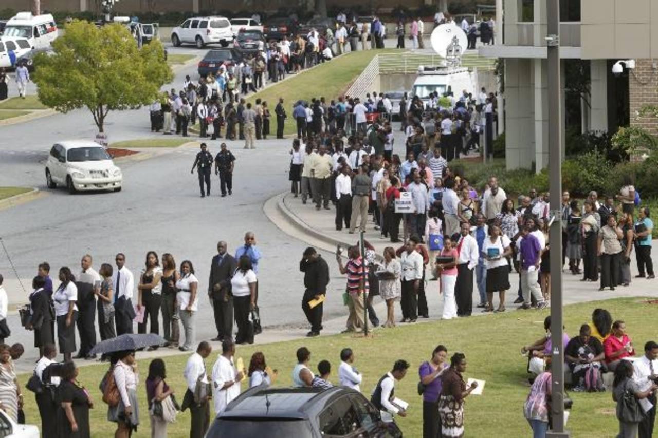 Los datos oficiales indican que hay un repunte en la creación de empleos. Foto edh /archivo