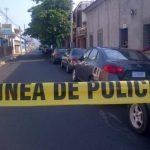 Lugar del asesinato en Santa Ana. FOTO EDH mAURCIO gUEVARA.