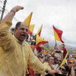 Luis Guillermo Solís, candidato del opositor Partido Acción Ciudadana (PAC), se perfiló desde temprano como ganador tras el retiro del oficialista Johnny Araya . foto edh / REUTERS