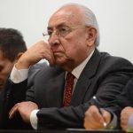 """Barrera contrademandó a Saca en enero pasado porque el expresidente lo llamó """"difamador""""."""
