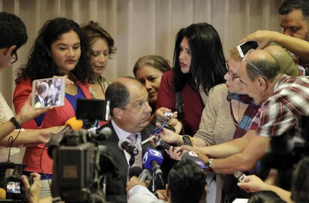 El presidente electo de Costa Rica, Luis Guillermo Solís, anunció que promoverá la unidad nacional, la búsqueda de acuerdos con diferentes sectores durante su Gobierno.