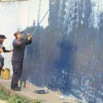 Borran grafitis alusivos a pandillas en colonias de Ahuachapán