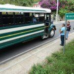 El asalto se registró en El Almendro, en la carretera de Huizúcar a Nuevo Cuscatlán, La Libertad. Foto EDH / Douglas Urquilla