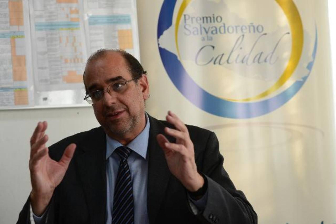 José Antonio Morales Carbonell, subsecretario de Gobernabilidad. Foto EDH / miguel villalta