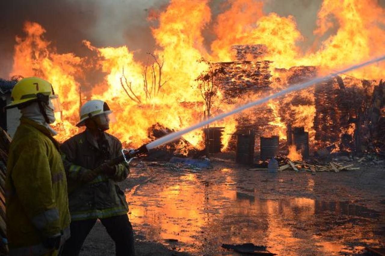 El 9 de abril, unincendio consum