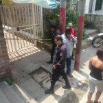 Marlon Otoniel Larios Hernández, de 23 años de edad, presunto pandillero, fue abatido a tiros esta mañana en Mejicanos.