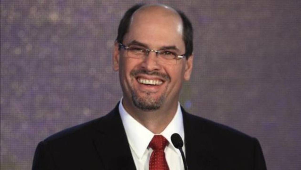 José Domingo Arias, candidato oficialista. foto edh/internet