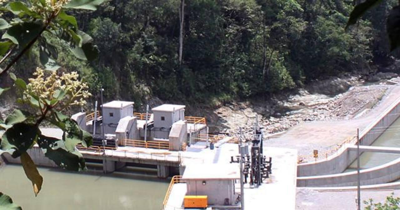 La primera planta hidroeléctrica funciona desde 2007 en la comunidad de Chel, en Quiché. Foto edh / ARCHIVO