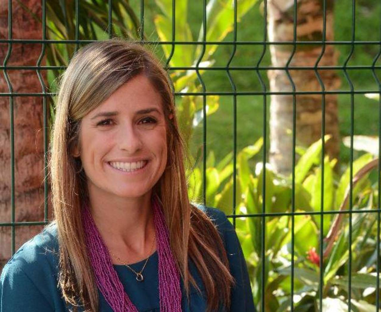 Andreina White, nutricionista venezolana especializada en la dieta 3R. foto edh/ Erika Chávez