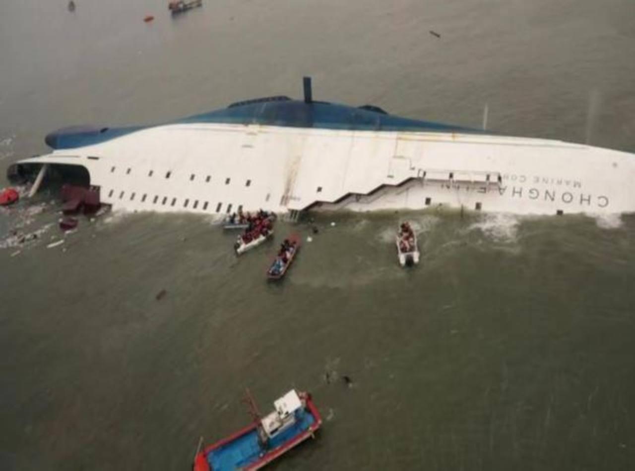 Detenidos 15 tripulantes del ferry surcoreano hundido
