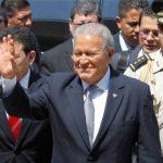 Presidente electo Sánchez Cerén.