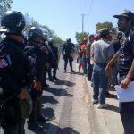 Residentes de la comunidad Los Héroes, Santa Ana, se oponían a ser desalojados. Aseguraban que tenían amparo de la CSJ.