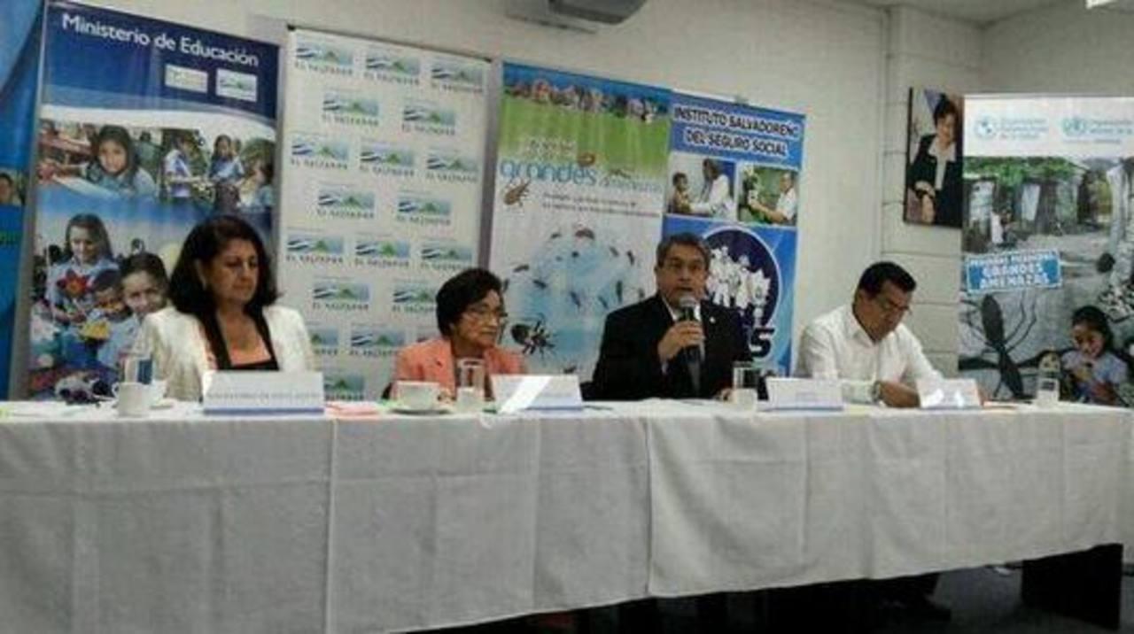 Autoridades conmemoraron el Día Mundial de la Salud. Foto vía Twitter Yamileth Cáceres