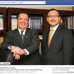 Hasta la fecha, la página de Facebook de Ochoa Benítez Asociados presenta al ministro de Agricultura, Pablo Alcides Ochoa, como socio.