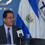 Eugenio Chicas, presidente del TSE