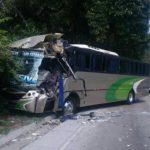 Un accidente de tránsito ocurrió en kilómetro 19 y medio de la Autopista Los Chorros, hubo un lesionado, según Cruz Roja.