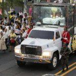 Salvadoreños celebran canonización de Juan XXIII y Juan Pablo II