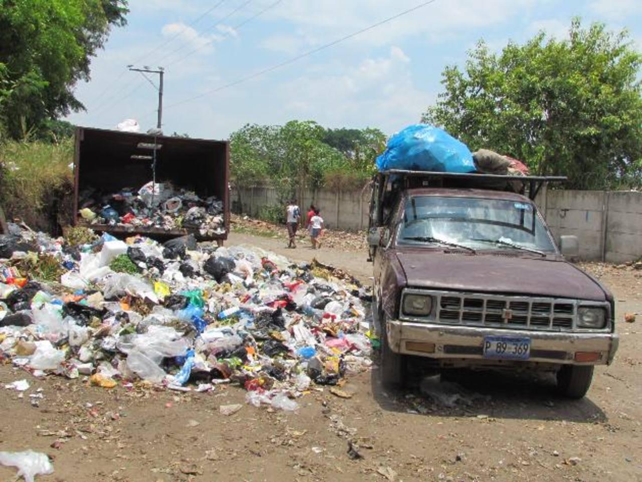 El tema de la basura ha sido uno de los grandes problemas de la actual administración municipal. Foto EDH / Mauricio Guevara
