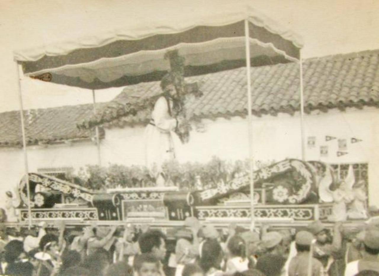 Remembranzas de Semana Santa en la ciudad de Izalco