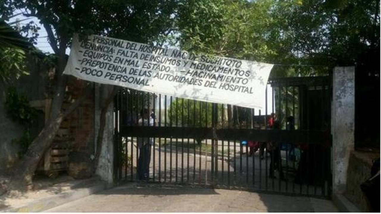 Suspenden labores en hospital de Suchitoto