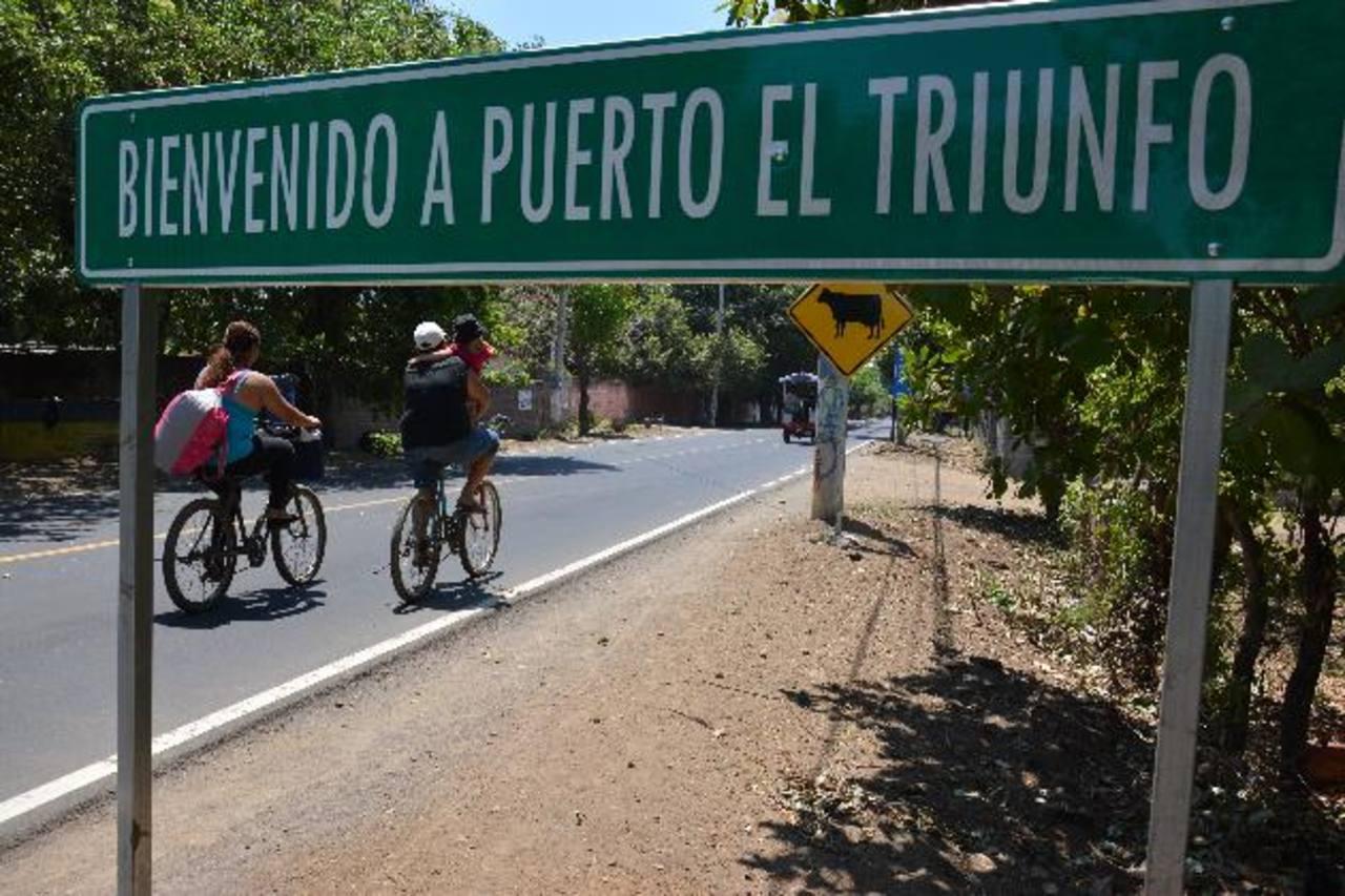 Pobladores de Puerto El Triunfo viven atemorizados por el accionar de las dos pandillas. Fotos EDH / Lucinda Quintanilla.