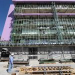 El 3 de septiembre de 2009 las autoridades de Salud junto al presidente de la República colocaron la primera piedra del nuevo hospital materno. foto edh / archivo