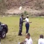 Estudiante militar brasileña lanzó por error una granada a colegas