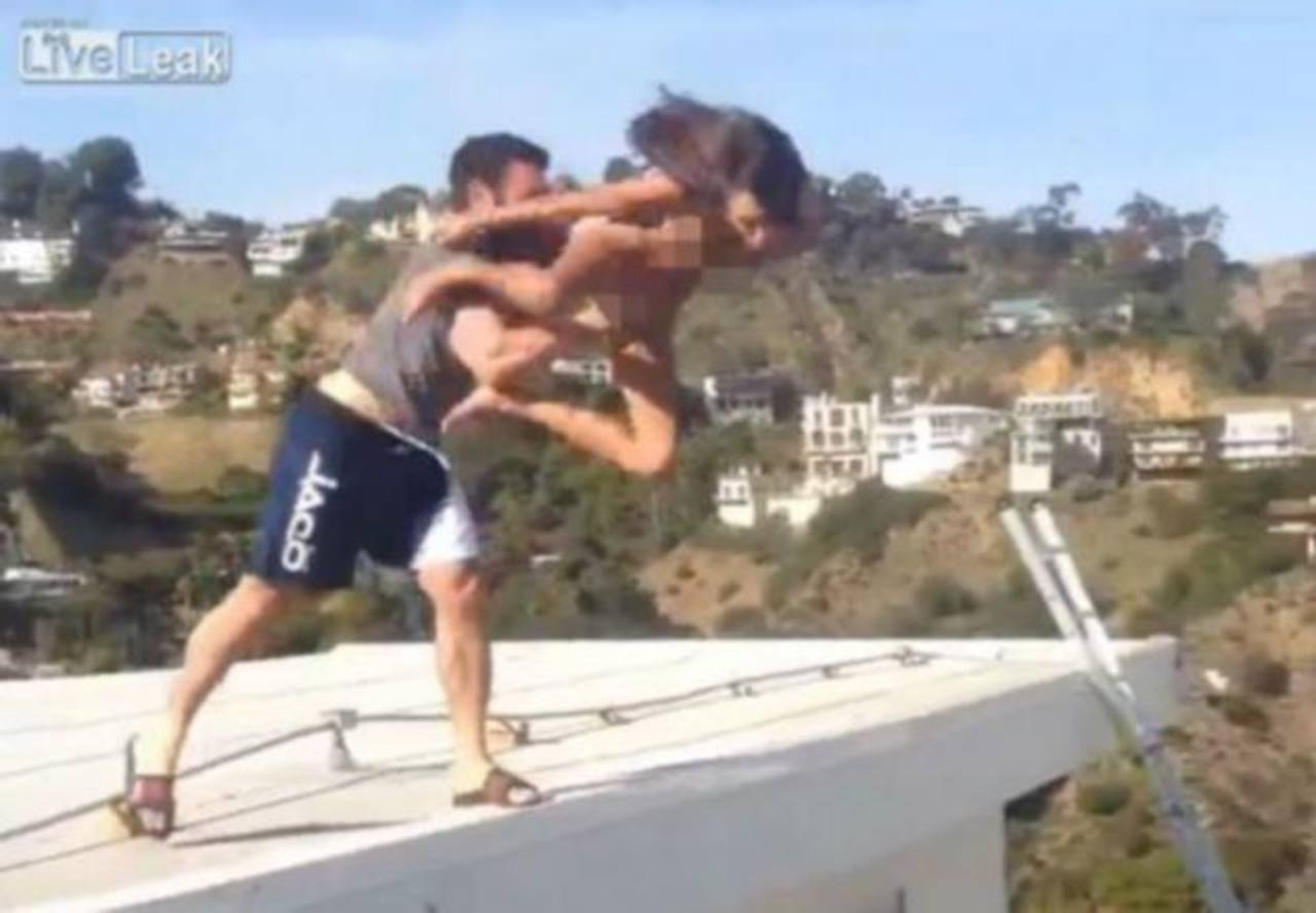 Millonario lanzó a una actriz desde una terraza y la fracturó