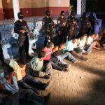 El operativo dejó a 23 personas capturadas.