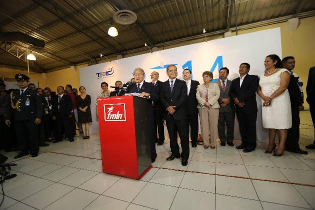 Sánchez Cerén dijo, el pasado 25 de marzo, que su gabinete también está integrado por gente más allá de las filas del partido.