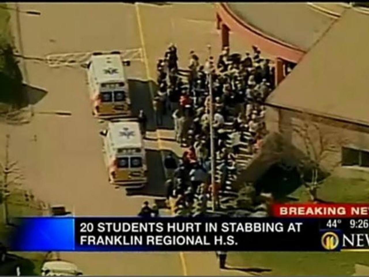 Varios heridos tras ataque con cuchillo.