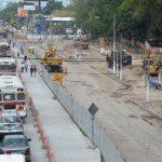 Los carriles especiales para los buses del SITRAMSS aún no se ha concluido su construcción.