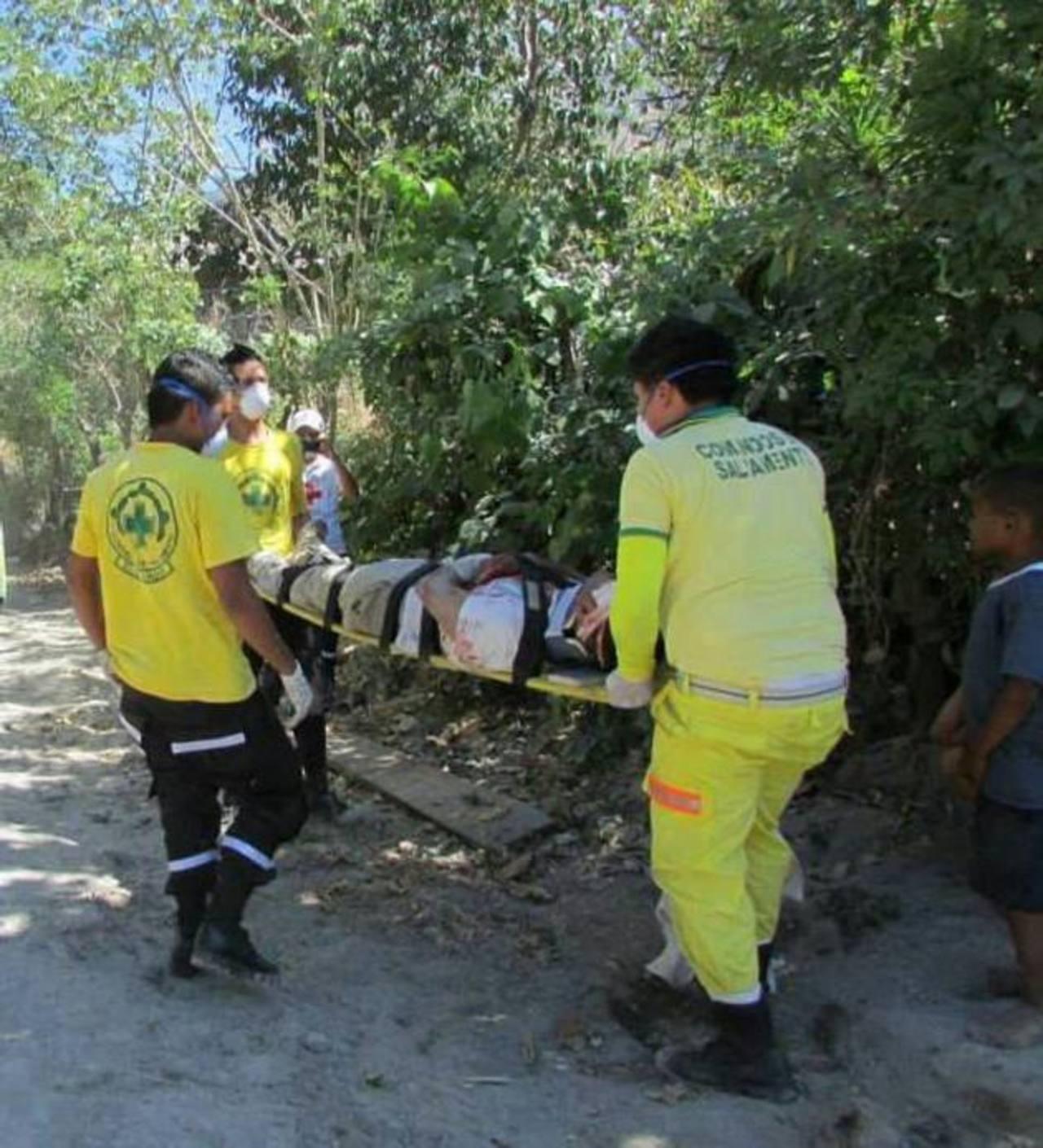 Los lesionados se encontraban estables al final de la tarde de ayer, informaron las autoridades. Foto / Cortesía