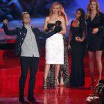Josh Hutcherson celebra su Popcorn Dorado al Mejor Actor, por su papel en la película The Hunger Games: Catching Fire, que fue elegida por las audiencias de MTV como la película del año. Jennifer Lawrence ganó a Mejor Actriz. fotos EDH / Agencias