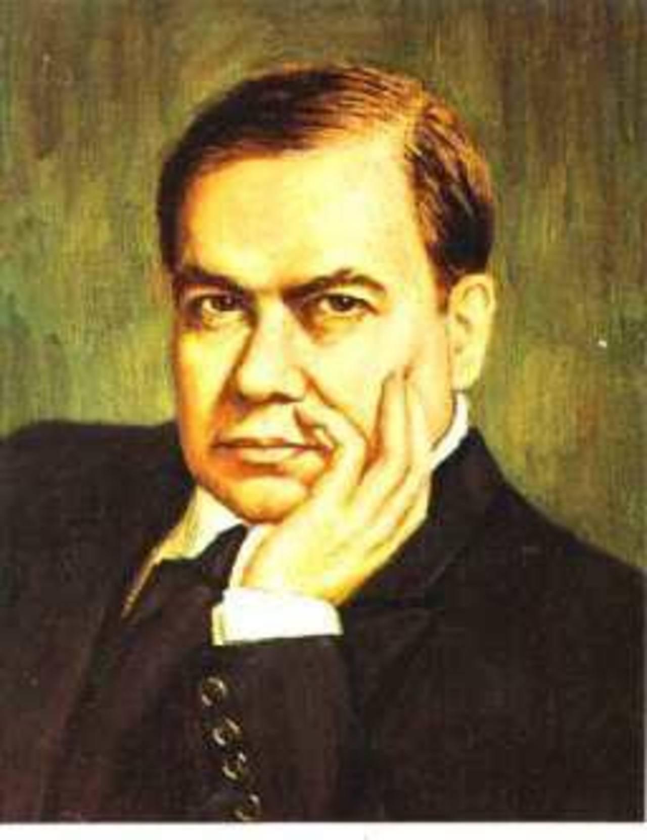 El poeta nicaragüense Rubén Darío. Foto/ Archivo