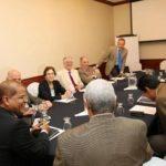 Fusades discute con vicepresidente electo Óscar Ortiz sobre seguridad