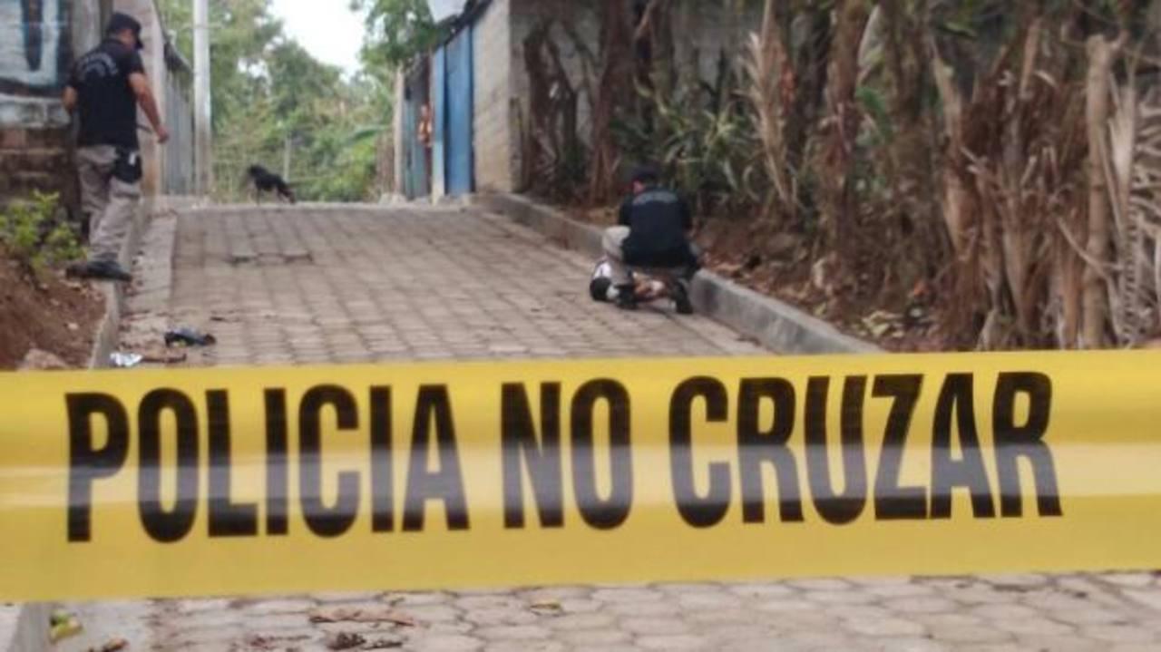 Autoridades verificaron el homicidio de un adolescente de 13 años en Guazapa.