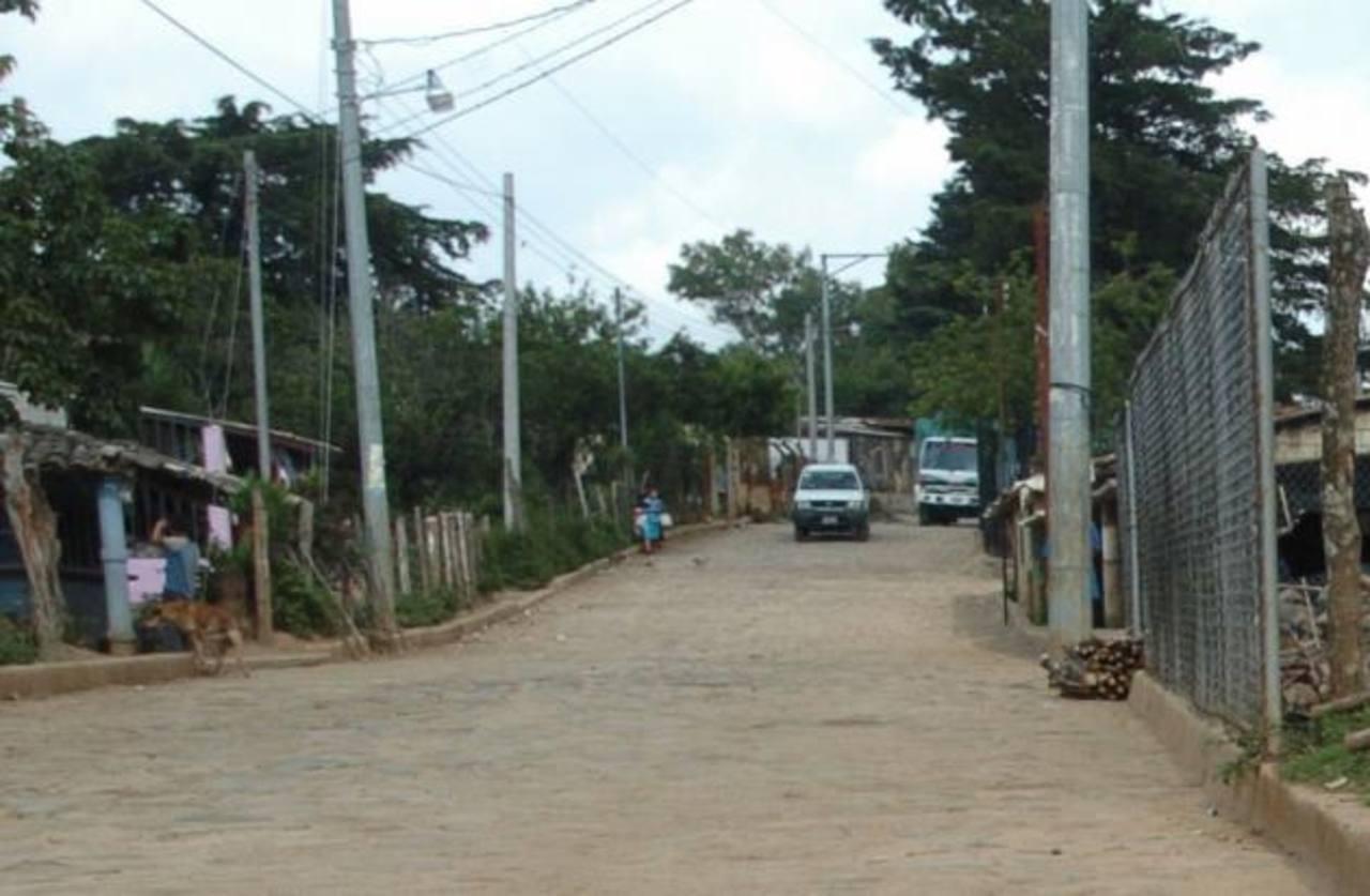El hecho fue cometido en Las Pilas, Chalatenango. Foto EDH
