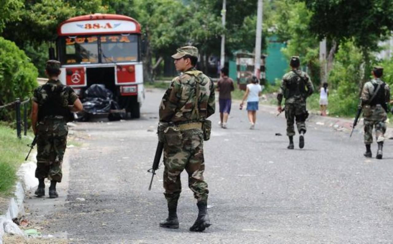 CSJ avala labor del Ejército en apoyo a la seguridad pública