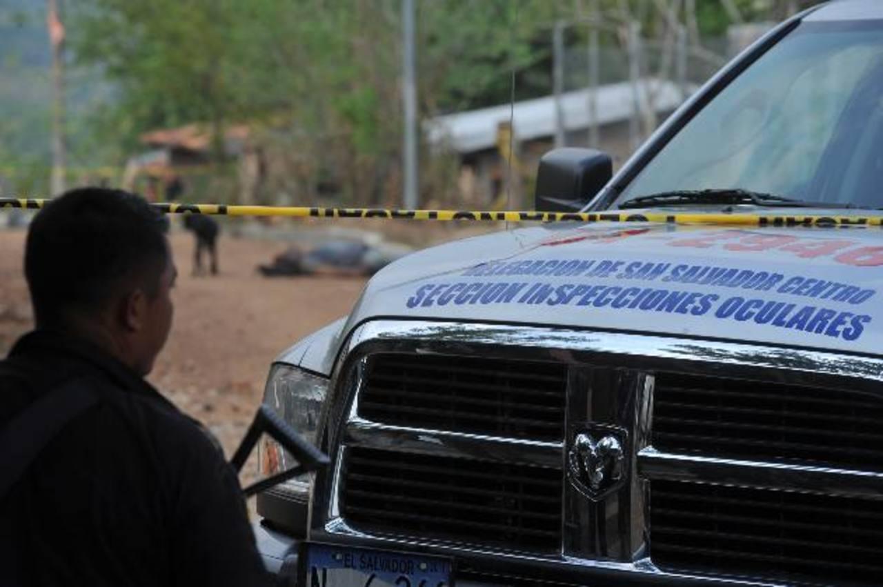 En este sitio se produjo el tiroteo donde murió el investigador.