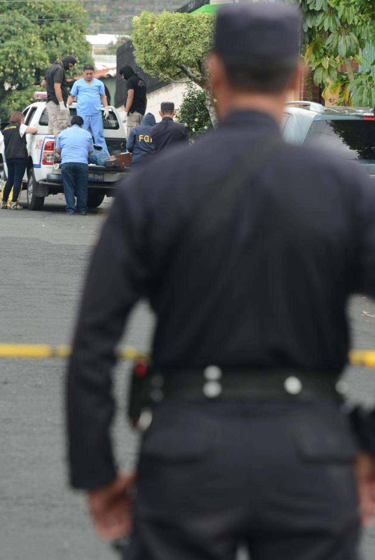 Dos muertos en Santa Tecla. Foto EDH / Douglas Urquilla