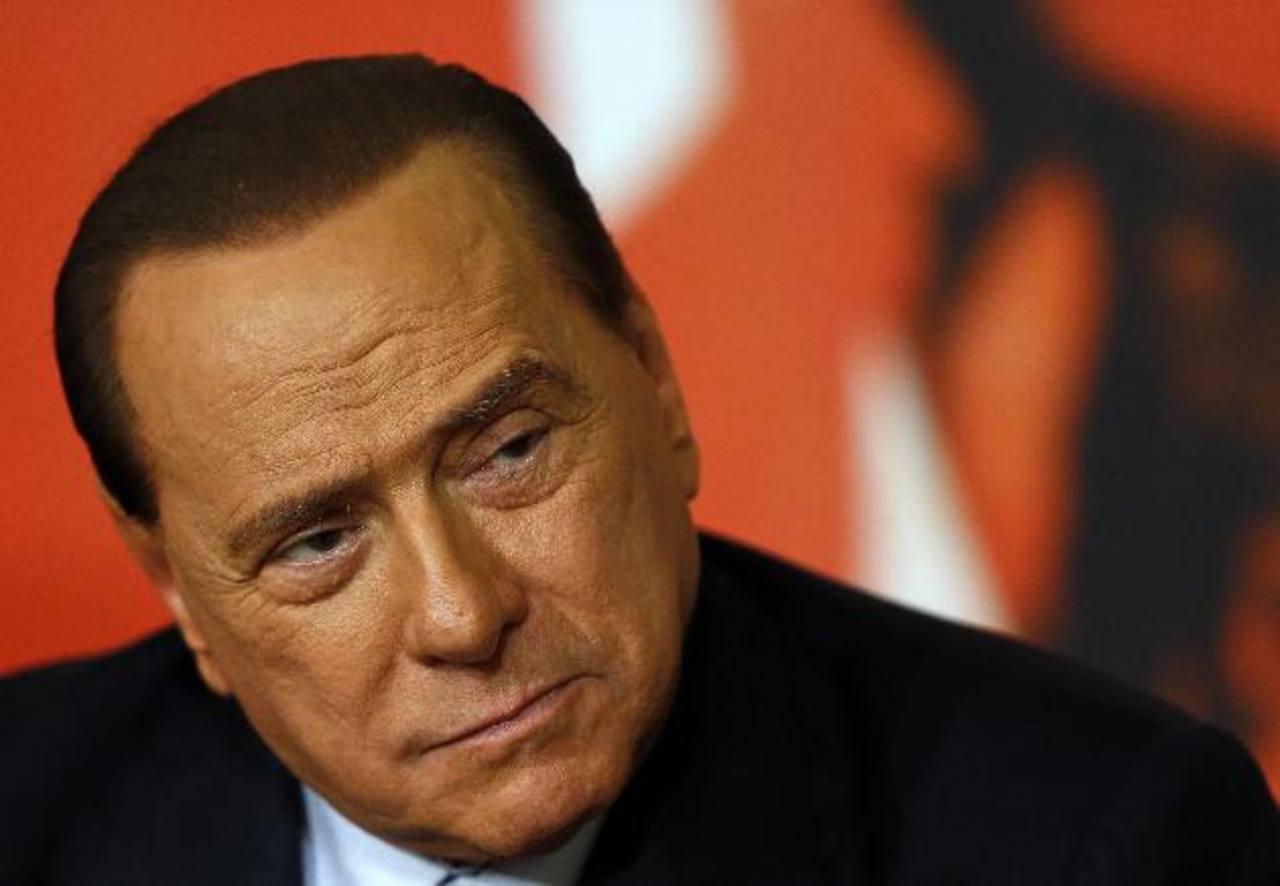 El ex primer ministro Silvio Berlusconi.